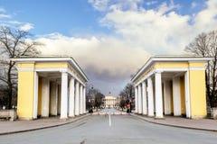 22 marzo 2015 Residenza di St Petersburg Russia il governatore Immagini Stock Libere da Diritti