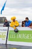 Marzo, 3ro 2015 maratón de la armonía en Ginebra Suiza Imágenes de archivo libres de regalías