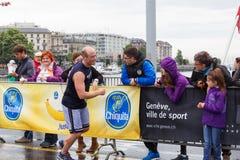 Marzo, 3ro 2015 maratón de la armonía en Ginebra Suiza Fotografía de archivo libre de regalías