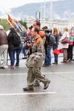 Marzo, 3ro 2015 maratón de la armonía en Ginebra Suiza Imagen de archivo libre de regalías