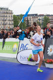 Marzo, 3ro 2015 maratón de la armonía en Ginebra Suiza Imagen de archivo