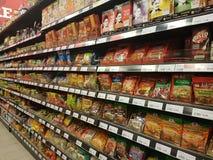 4 marzo 2017 Sam& x27; s Groceria al NU Sentral Kuala Lumpur Immagine Stock Libera da Diritti