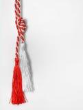 1° marzo simboli tradizionali del ninnolo di amore Immagini Stock Libere da Diritti