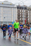 Marzo, terzo del 2015 maratona di armonia a Ginevra switzerland Fotografie Stock