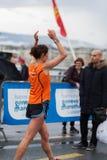 Marzo, terzo del 2015 maratona di armonia a Ginevra switzerland Immagini Stock Libere da Diritti
