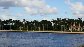 Marzo-Un-Lago, Palm Beach, Florida Fotografie Stock