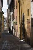 Marzos de Fossombrone, Italia Imagenes de archivo