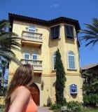 Marzyć Duży dom fotografia royalty free