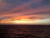 Marzyć ocean obrazy royalty free