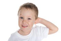 Marzyć preschool chłopiec obrazy stock
