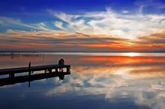 marzy jezioro Obraz Stock