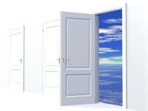 marzy o drzwi Obraz Royalty Free