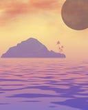marzy o oceanu Zdjęcia Royalty Free