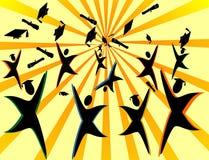 marzy target2011_0_ nadzieja Obraz Stock