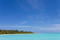 marzy wyspę Obraz Royalty Free