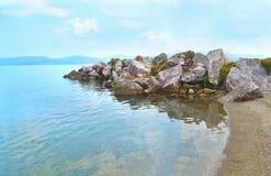 Marzy wyspę Eretria Euboea Grecja Fotografia Royalty Free