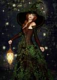 marzycielska czarodziejka Obrazy Stock
