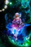 marzycielska czarodziejka Zdjęcie Stock