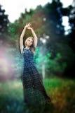 Marzycielska fotografia Yong ładna kobieta obrazy stock