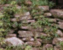 marzycielska kamienna ściana obraz royalty free
