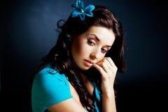 marzycielska kobieta Zdjęcia Stock