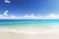 Marzycielska plaża Zdjęcia Stock