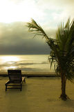 Marzycielska plaża Obrazy Royalty Free