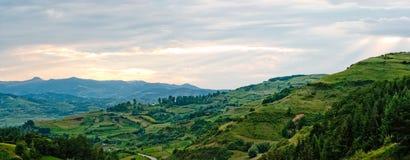 marzycielski krajobraz obraz royalty free