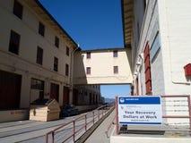 Masón de la fortaleza Foto de archivo