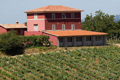 Masón en Toscana foto de archivo