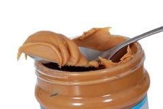 masła słoju arachid Zdjęcia Stock
