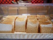 masło chleb rana miejsca ilustracyjny pokroić ustawienia obraz stock