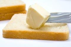 masło chlebowy nóż Zdjęcia Royalty Free