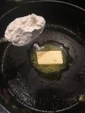 Masło i mąka obraz royalty free