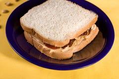 masło kanapka galaretowa arachidowa fotografia royalty free