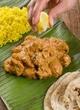 Masło kurczak Rice & cytryna Zdjęcie Royalty Free