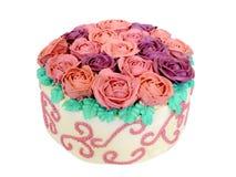 Masło róż tort Obraz Royalty Free