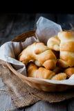 masło stacza się chleb Obrazy Royalty Free
