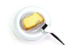 Masło tort Obrazy Stock