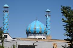 MASŁOSZA meczet NA NORREBRO terenie DUŃSKI kapitał Zdjęcie Royalty Free