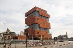 MAS   Музей Aan De Stroom, Антверпен, Бельгия Стоковые Фото