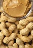 masła arachidu arachidy Zdjęcie Stock