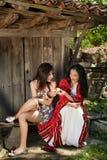 Maçãs búlgaras Foto de Stock Royalty Free