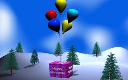 MAS de cadeaux X Images stock