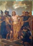 10mas estaciones de la cruz Imagen de archivo libre de regalías