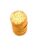 masła krakersa arachidowa sterta Obraz Royalty Free