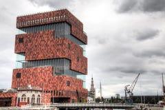 The MAS museum in Antwerp, Belgium Stock Images
