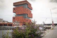The MAS museum in Antwerp, Belgium Stock Photos