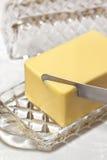 Masła naczynie Zdjęcie Stock