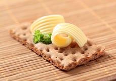 masło chlebowy chips Fotografia Royalty Free